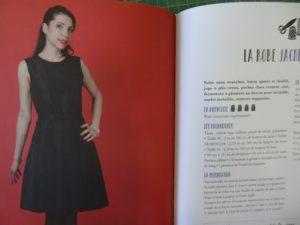 Livre les créations de Nadia -La Boutik Créative de Rives - la robe jackie Kennedy