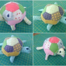Lulu la tortue au cours de couture enfants