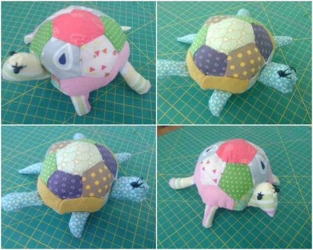 Lulu la tortue au cours de couture enfants | La Boutik' Créative de Rives