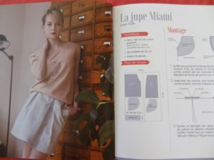 Jupe Miami - couture pour l'été