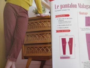 Pantalon Malaga - couture pour l'été