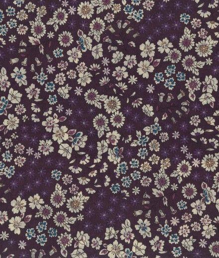 tissu-froufrou-fleuri-col-prune-delicate
