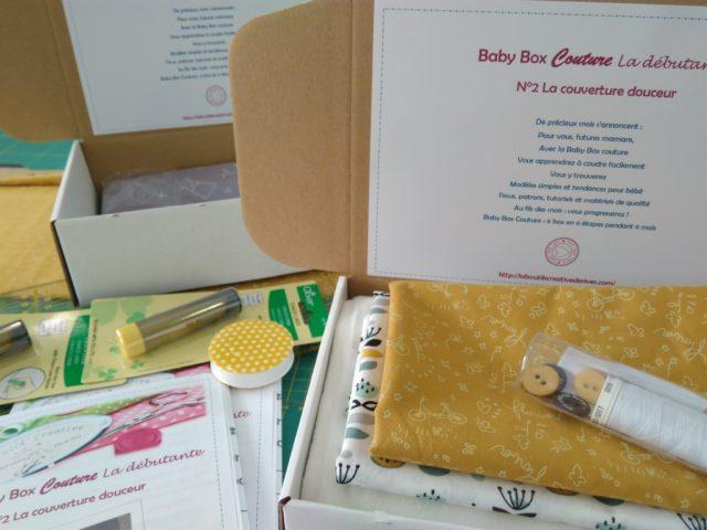 Baby Box Couture N°2 La couverture douceur détail