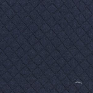 Jersey matelassé marine (x 10cm)
