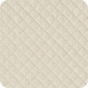 Jersey matelassé blanc (x10cm)