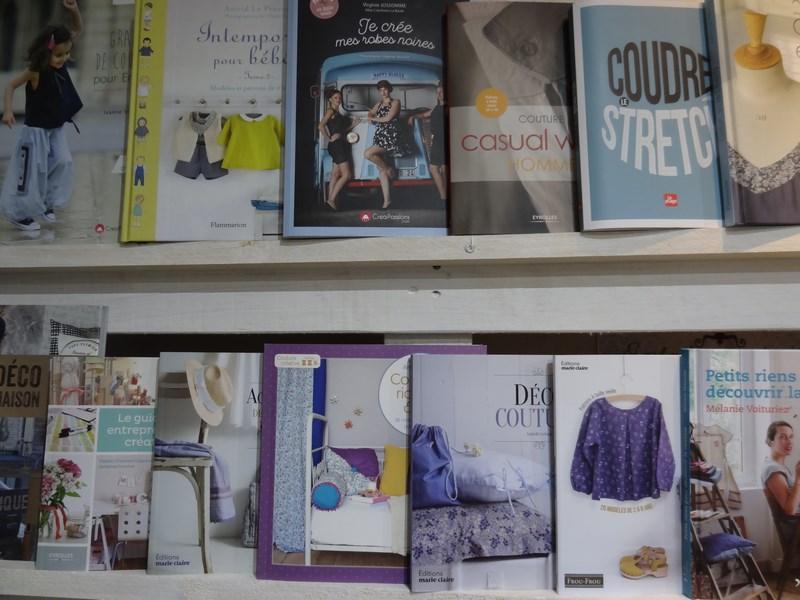 Rayon livres La Boutik' Créative de Rives