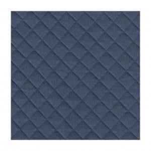 Jersey molletonné bleu
