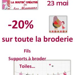 Promotion Broderie