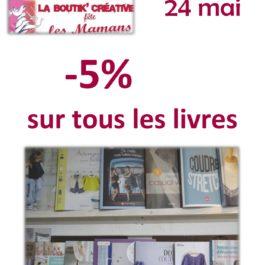 Promotion sur les livres!