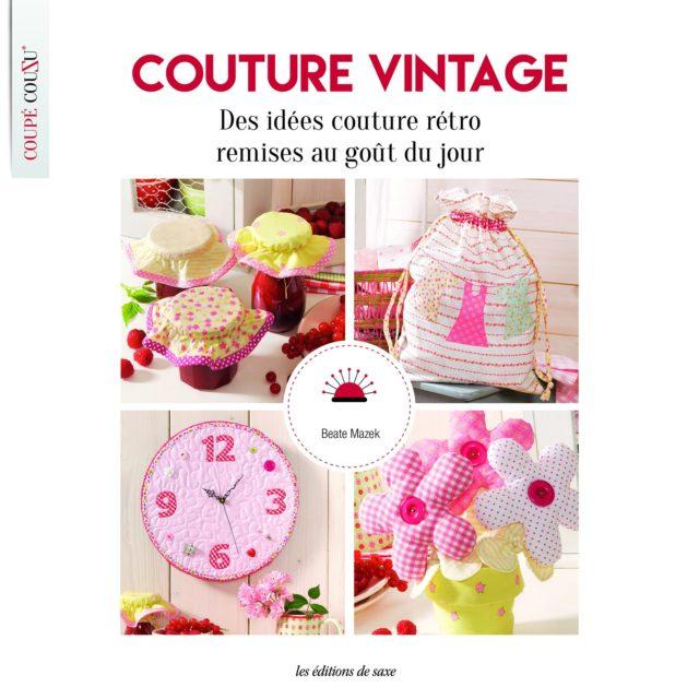 Livre Couture vintage : des idées de couture rétro remises au goût du jour