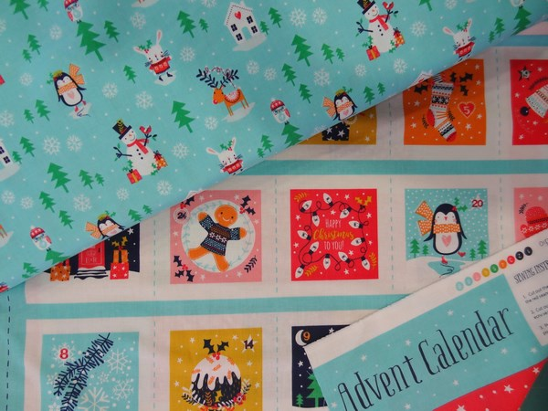 Tissus coton advent calendar dashwoodstudio