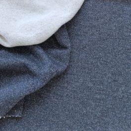 tissu-sweat-molletonne-paillete-bleu