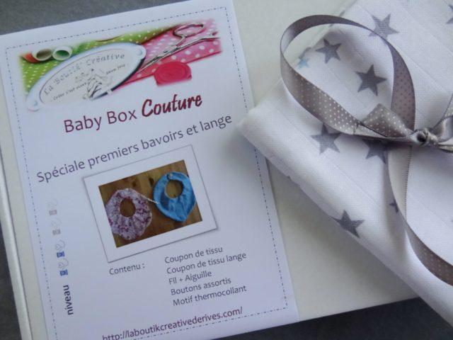 Baby Box spéciale premiers bavoirs et langes