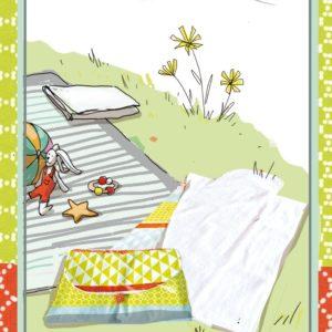 Baby Box couture N°4 Le Matelas à langer nomade
