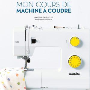 Mon cours de machine à coudre couv