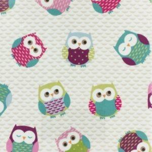 Tissu enduit Fryett's owls