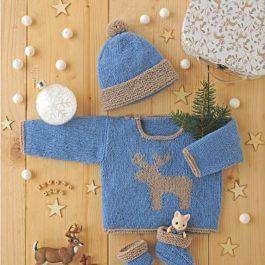 Layette en laine Fonty
