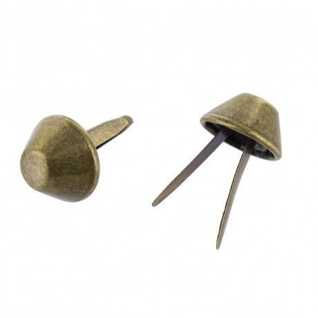 Pieds de sac 1.2 x 0.5 cm couleur bronze