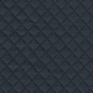 Tissu jersey matelassé France Duval gris foncé (x 10cm)