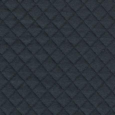 Tissu jersey matelassé France Duval gris foncé