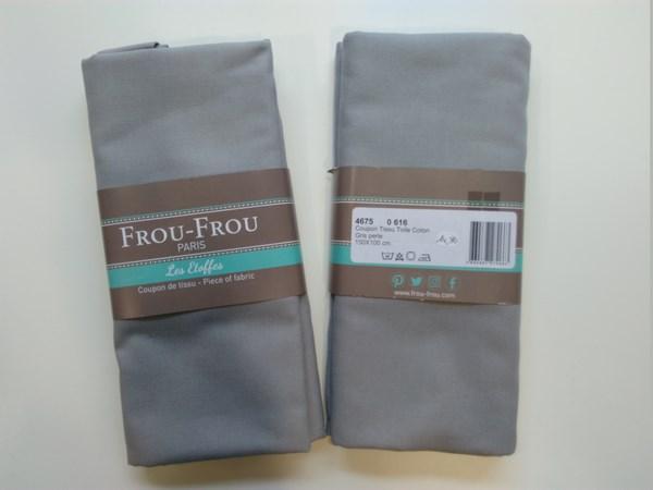 coupon-tissu-toile-coton-FrouFrou-gris-perle-616