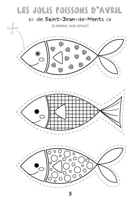 Les jolis poissons d'avril