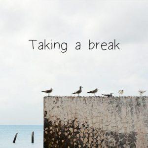 Taking a break à la BoutikCréative de Rives