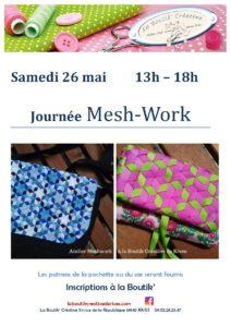 Affiche journée Mesh Work du 26 mai 2018