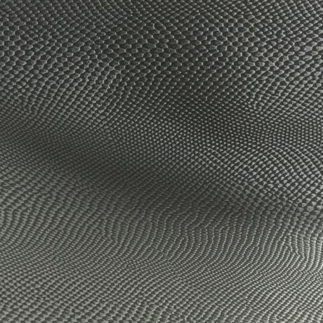 Tissu simili cuir iguane gris foncé 2