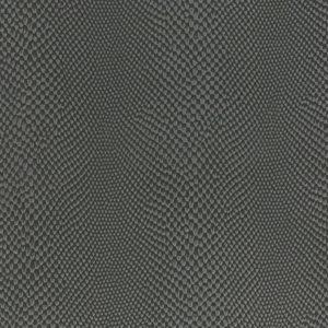 coupon Tissu simili cuir iguane gris foncé KI-SIGN (50 x 70cm)