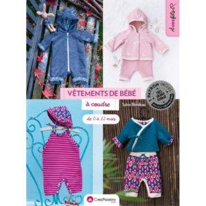 Vêtements de bébé à coudre : de 0 à 12 mois