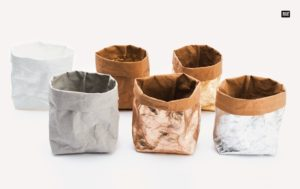 Washable paper-pochons