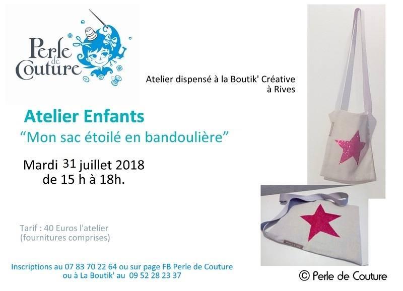 atelier couture enfants 31 juillet