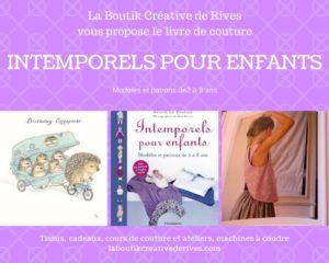 Intemporels pour enfants livre couture la boutik Creative 6