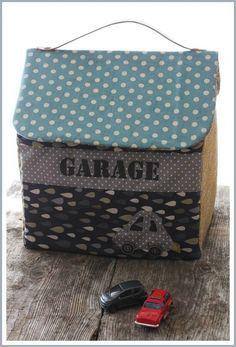 valisette tissu garage par Angel Mélie