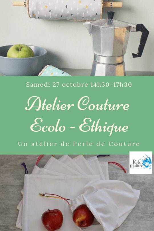 Atelier couture Ecolo-Ethique