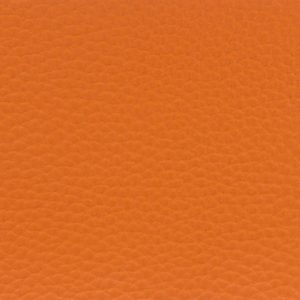 Tissu simili cuir orange Ki-Sign (x10cm)