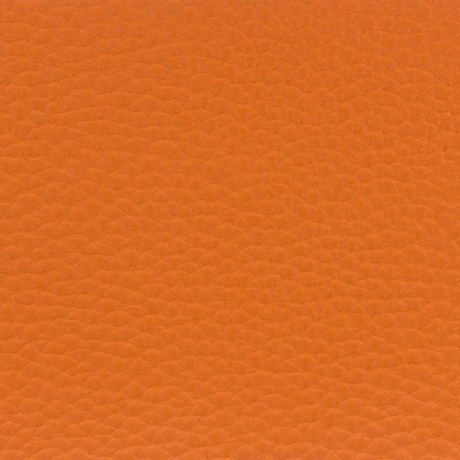Tissu simili cuir irisé orange