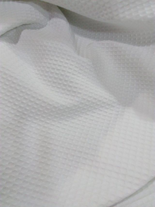 Tissu Nid d'abeille détail 2 La boutik' Créative de Rives