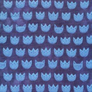Tissu coton biologique · Mia · (x 10 cm)