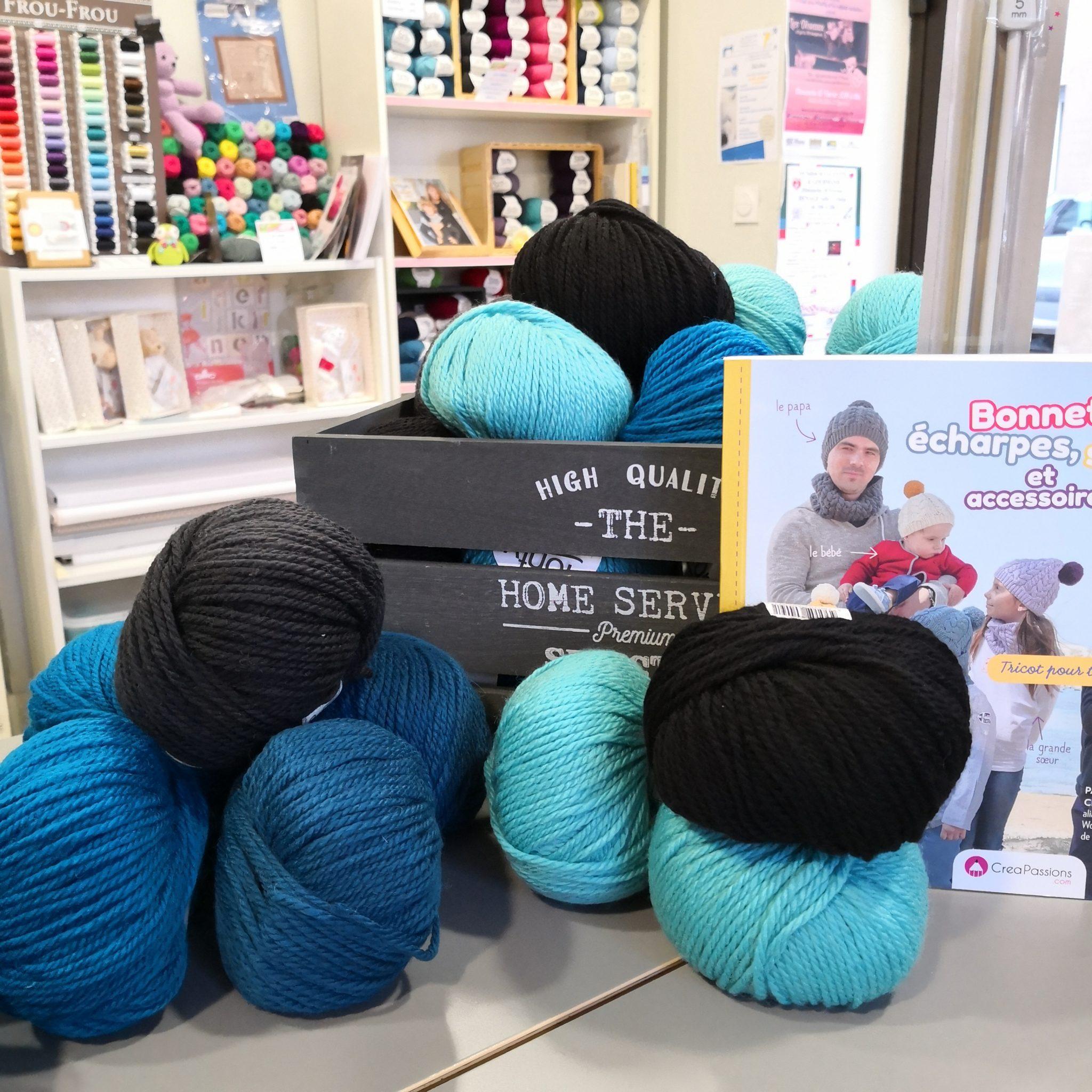 laine Fonty N°5 à la Boutik Creative
