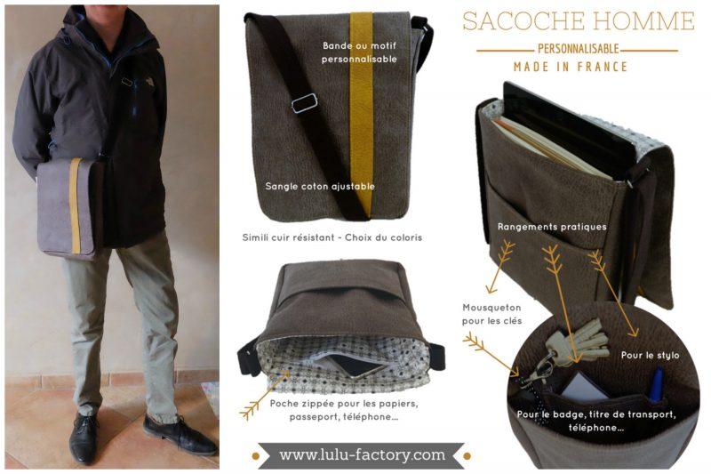 SACOCHE-HOMME-NOIRE-BANDE-MOUTARDE-AFFICHE-avec-mannequin-1-e1488614912188