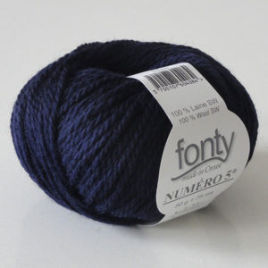 FONTY N°5 col Gris anthracite