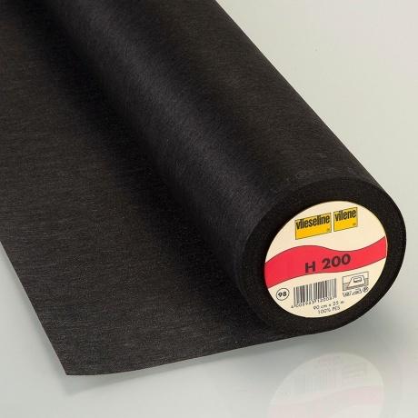 Entoilage léger thermo 90cm noir H200