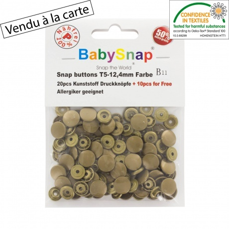 Pression BabySnap® bronze type kam 408 46100 99 B11