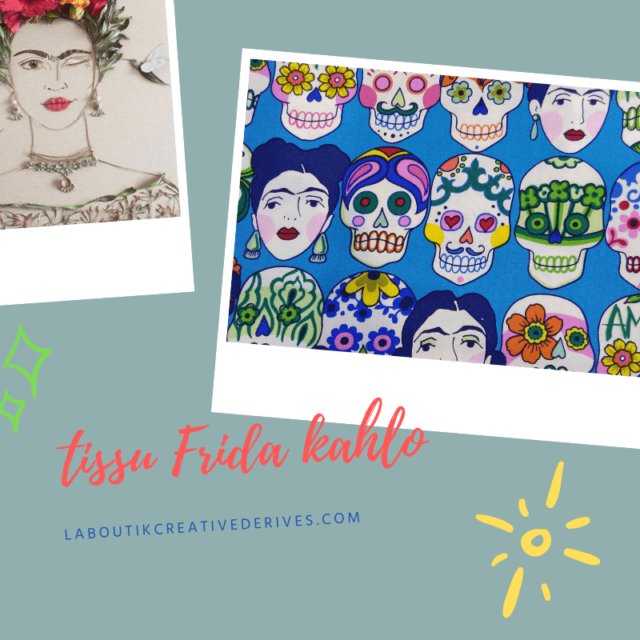 Tissu Frida Kahlo