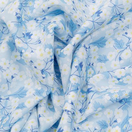 Tissu Liberty mitsi col blue angel Édition 40 ans 2