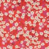 Tissu Liberty mitsi col poppy red Édition 40 ans