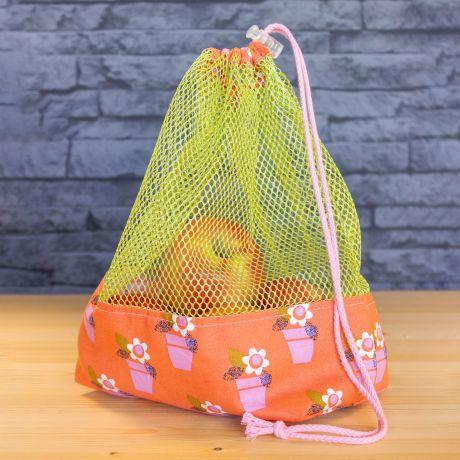 Tissu filet Mesh fabric vert pour sacs à vrac