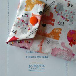 Les kits couture de la Boutik' Créative